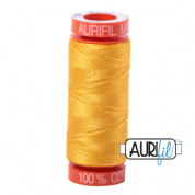 Aurifil 50 Cotton Thread - 2135 (Yellow)